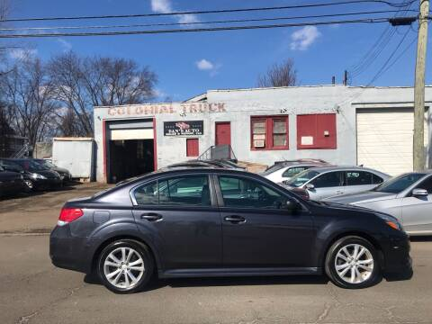 2013 Subaru Legacy for sale at Dan's Auto Sales and Repair LLC in East Hartford CT