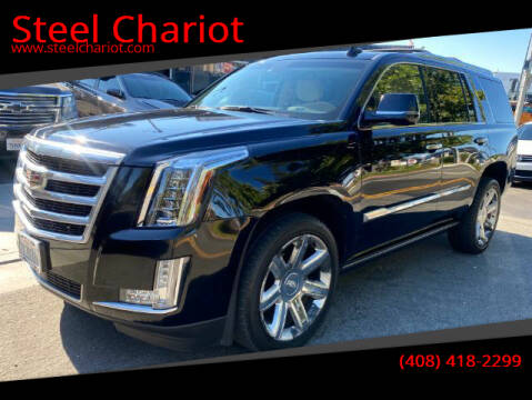 2015 Cadillac Escalade for sale at Steel Chariot in San Jose CA