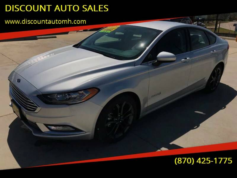 2018 Ford Fusion Hybrid for sale at DISCOUNT AUTO SALES in Mountain Home AR