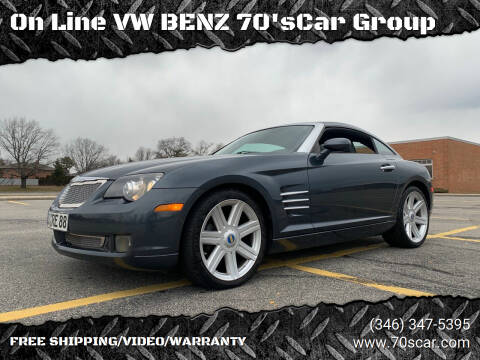 2007 Chrysler Crossfire for sale at On Line VW BENZ 70'sCar Group in Warehouse CA