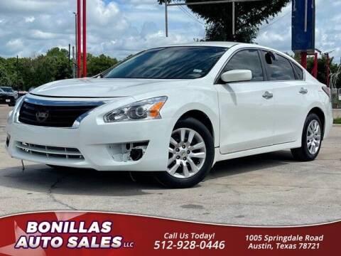 2014 Nissan Altima for sale at Bonillas Auto Sales in Austin TX