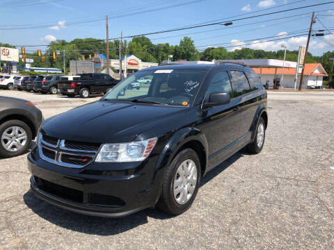 2017 Dodge Journey for sale at Penland Automotive Group in Laurens SC