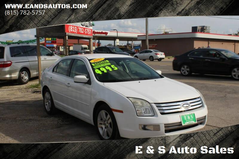 2007 Ford Fusion for sale at E & S Auto Sales in Crest Hill IL