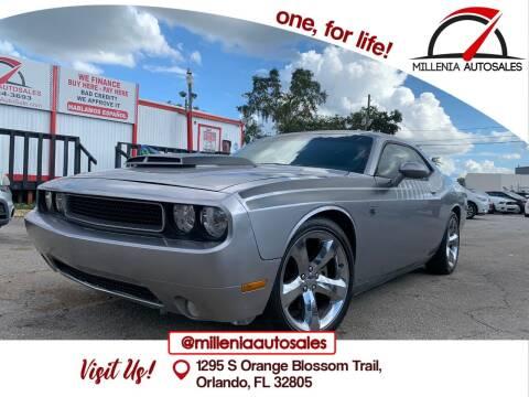 2013 Dodge Challenger for sale at Millenia Auto Sales in Orlando FL