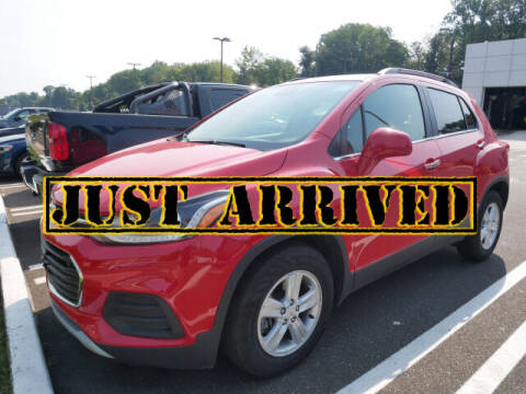 2020 Chevrolet Trax for sale at BRYNER CHEVROLET in Jenkintown PA