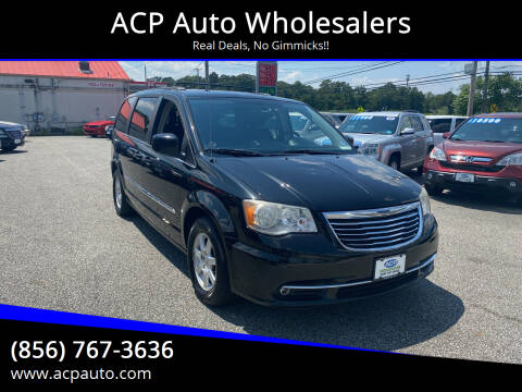 2012 Chrysler Town and Country for sale at ACP Auto Wholesalers in Berlin NJ