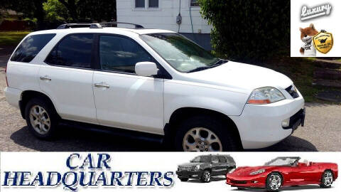 2002 Acura MDX for sale at CAR  HEADQUARTERS in New Windsor NY
