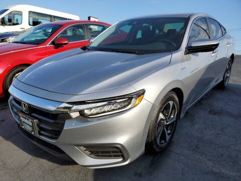 2022 Honda Insight for sale at THE TRAIN AUTO SALES & RENTALS in Taylors SC