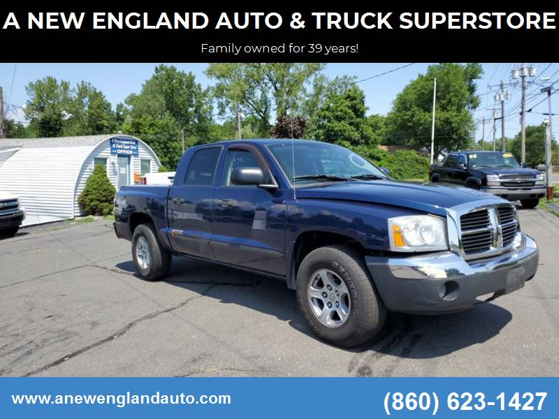 2005 Dodge Dakota for sale at A NEW ENGLAND AUTO & TRUCK SUPERSTORE in East Windsor CT