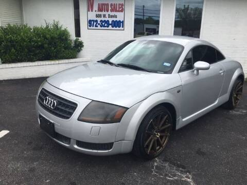 2003 Audi TT for sale at IV AUTO SALES in Mesquite TX