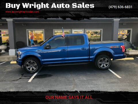 2017 Ford F-150 for sale at Buy Wright Auto Sales in Rogers AR