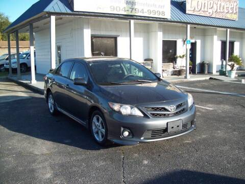 2011 Toyota Corolla for sale at LONGSTREET AUTO in St Augustine FL