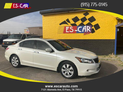 2010 Honda Accord for sale at Escar Auto in El Paso TX