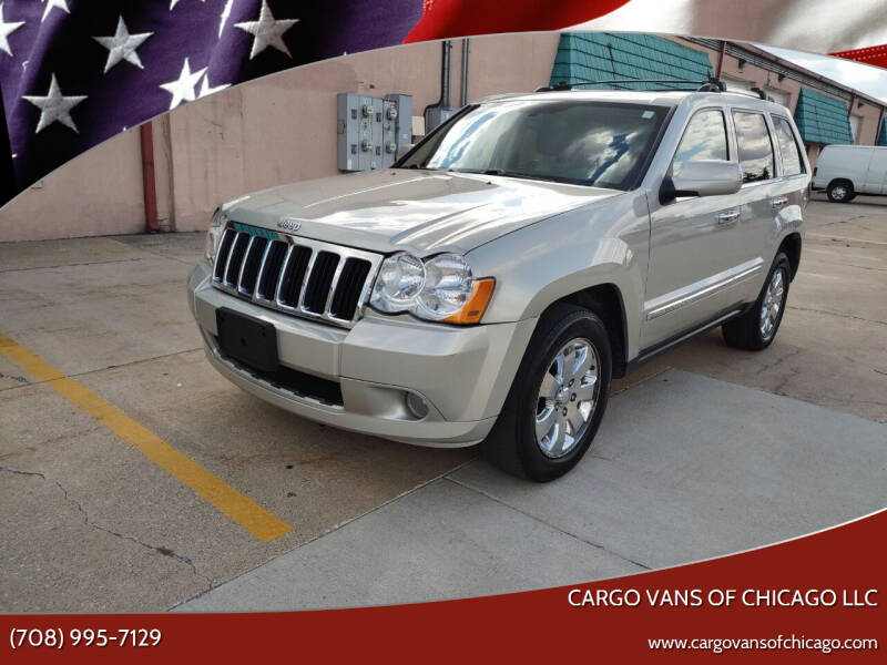 2010 Jeep Grand Cherokee for sale at Cargo Vans of Chicago LLC in Mokena IL