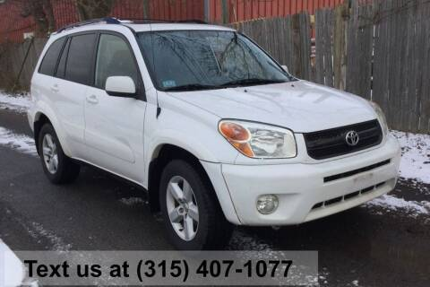 2005 Toyota RAV4 for sale at Pete Kitt's Automotive Sales & Service in Camillus NY