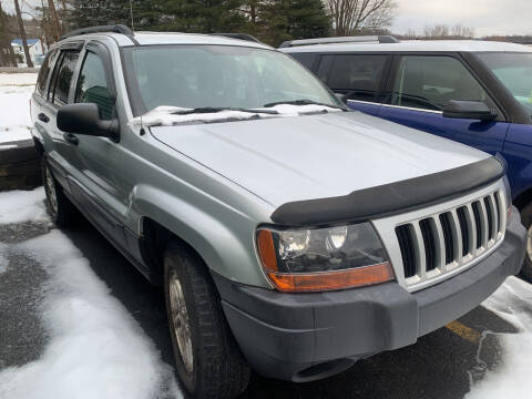2004 Jeep Grand Cherokee for sale at BURNWORTH AUTO INC in Windber PA