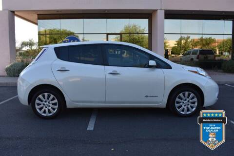 2015 Nissan LEAF for sale at GOLDIES MOTORS in Phoenix AZ