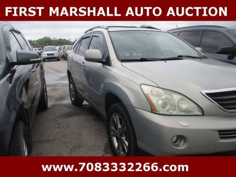 2006 Lexus RX 400h for sale at First Marshall Auto Auction in Harvey IL