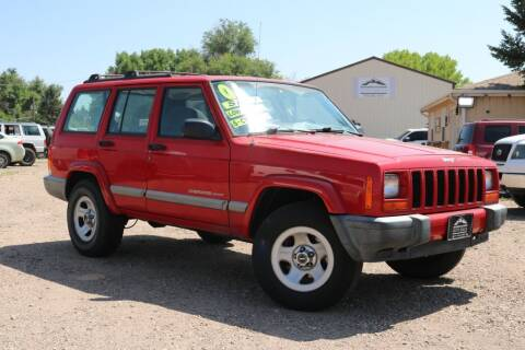 2001 Jeep Cherokee for sale at Northern Colorado auto sales Inc in Fort Collins CO