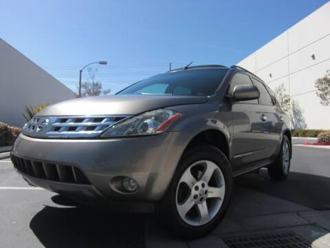 2003 Nissan Murano for sale at J'S MOTORS in San Diego CA