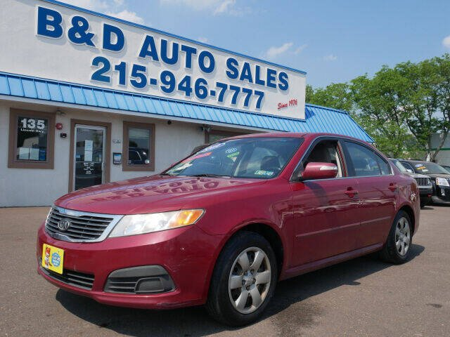 2009 Kia Optima for sale at B & D Auto Sales Inc. in Fairless Hills PA