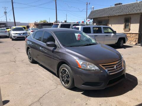 2014 Nissan Sentra for sale at Valley Auto Center in Phoenix AZ