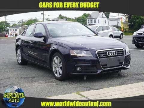 2011 Audi A4 for sale at Worldwide Auto in Hamilton NJ