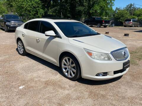 2012 Buick LaCrosse for sale at Texas Luxury Auto in Houston TX