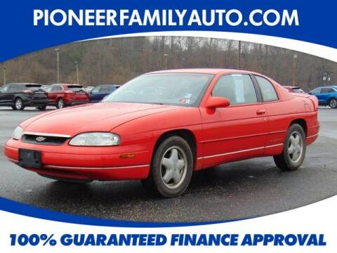 1996 Chevrolet Monte Carlo for sale at Pioneer Family auto in Marietta OH