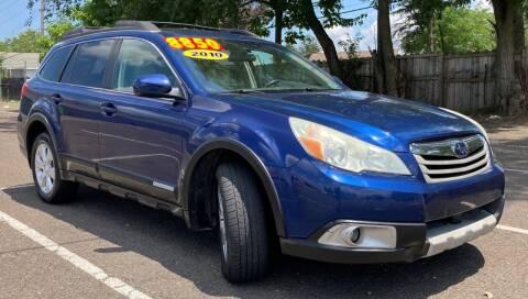2010 Subaru Outback for sale at Blvd Auto Center in Philadelphia PA