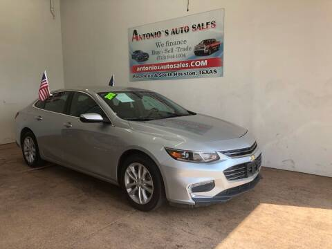 2018 Chevrolet Malibu for sale at Antonio's Auto Sales - Antonio`s  2206 in Pasadena TX