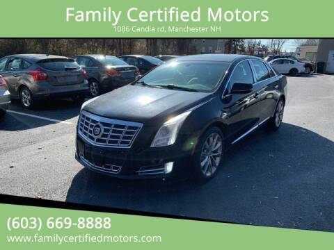2014 Cadillac XTS for sale at Family Certified Motors in Manchester NH