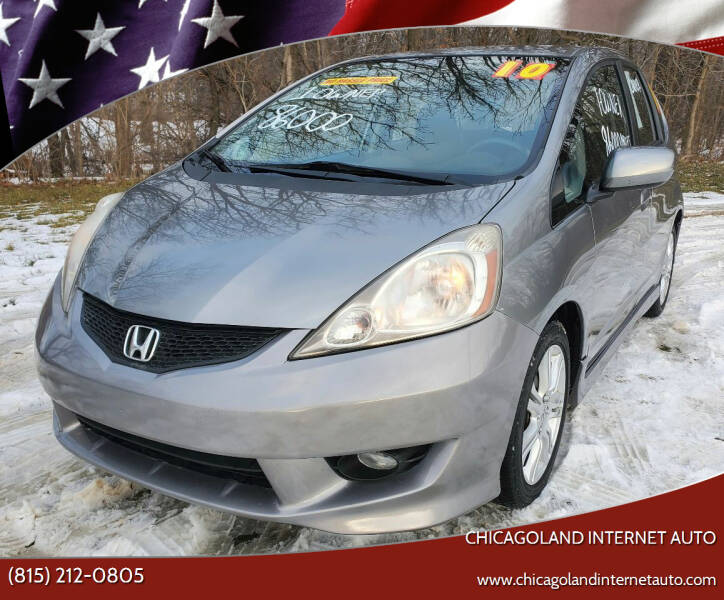 2010 Honda Fit for sale at Chicagoland Internet Auto - 410 N Vine St New Lenox IL, 60451 in New Lenox IL