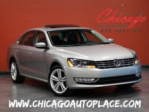 2013 Volkswagen Passat for sale at Chicago Auto Place in Bensenville IL