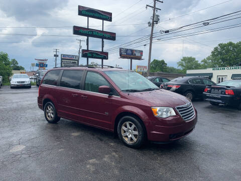 2008 Chrysler Town and Country for sale at Boardman Auto Mall in Boardman OH