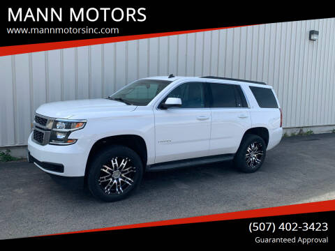 2015 Chevrolet Tahoe for sale at MANN MOTORS in Albert Lea MN
