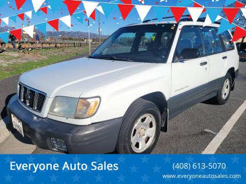 2001 Subaru Forester for sale at Everyone Auto Sales in Santa Clara CA