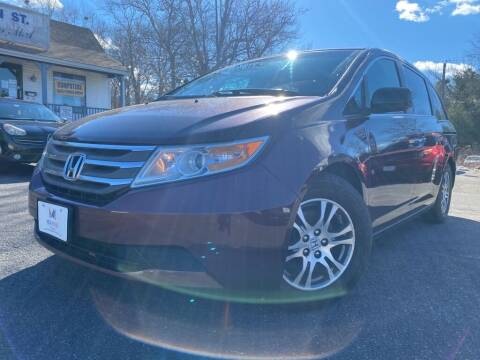2012 Honda Odyssey for sale at Mega Motors in West Bridgewater MA