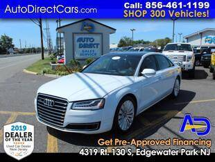 2015 Audi A8 L for sale at Auto Direct Trucks.com in Edgewater Park NJ