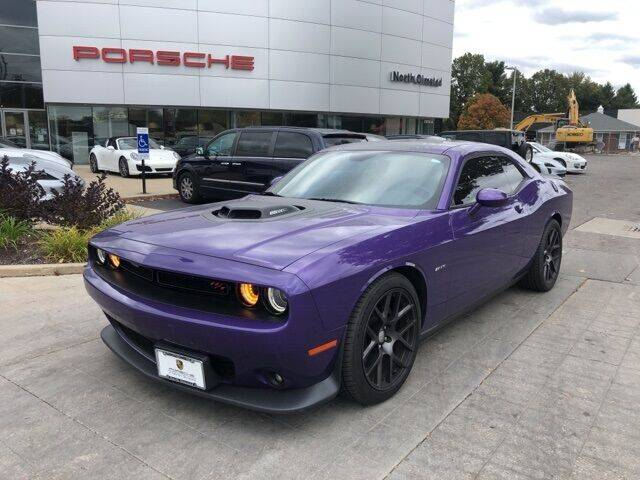 2016 Dodge Challenger for sale at PORSCHE OF NORTH OLMSTED in North Olmsted OH