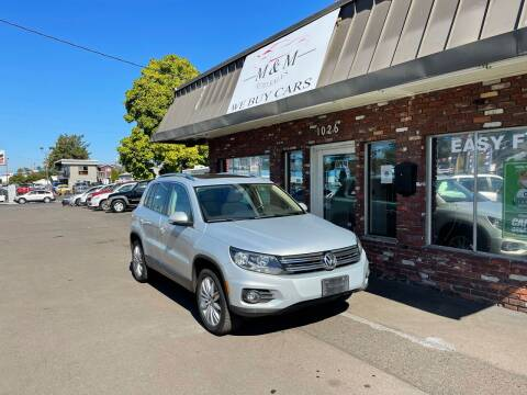 2013 Volkswagen Tiguan for sale at M&M Auto Sales in Portland OR