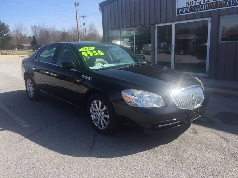2011 Buick Lucerne for sale at KEITH JORDAN'S 10 & UNDER in Lima OH