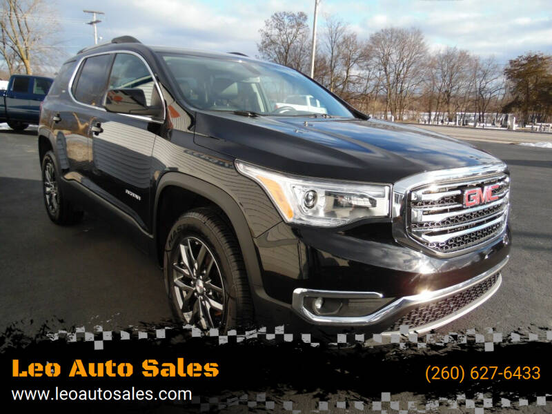 2017 GMC Acadia for sale at Leo Auto Sales in Leo IN