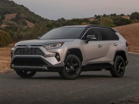 2021 Toyota RAV4 Hybrid for sale at Sam Leman Toyota Bloomington in Bloomington IL