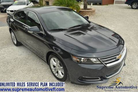 2014 Chevrolet Impala for sale at Supreme Automotive in Land O Lakes FL