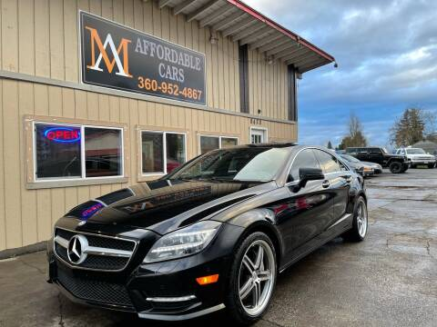2012 Mercedes-Benz CLS for sale at M & A Affordable Cars in Vancouver WA