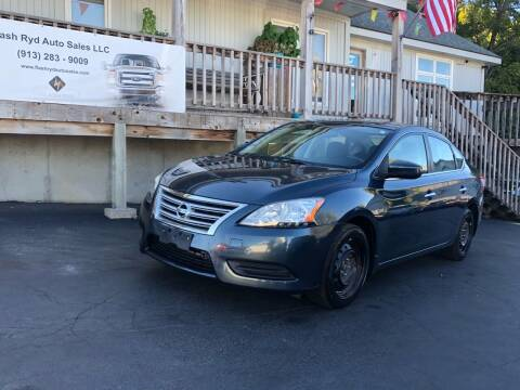 2013 Nissan Sentra for sale at Flash Ryd Auto Sales in Kansas City KS