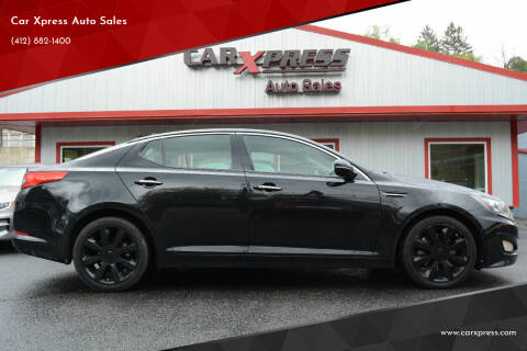 2012 Kia Optima for sale at Car Xpress Auto Sales in Pittsburgh PA