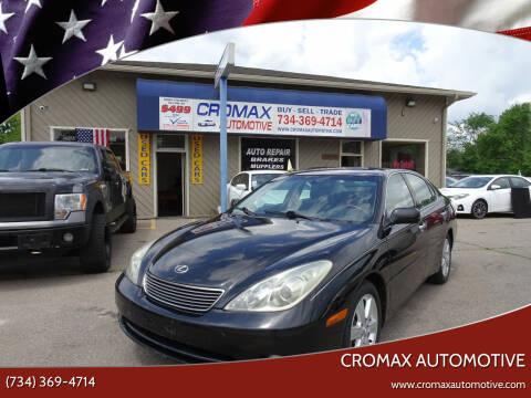 2005 Lexus ES 330 for sale at Cromax Automotive in Ann Arbor MI