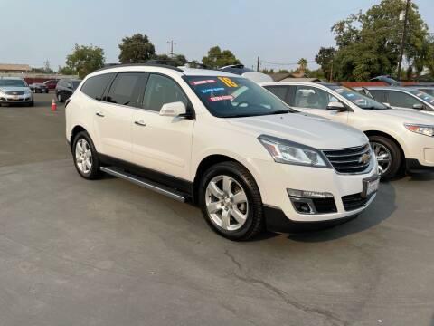 2016 Chevrolet Traverse for sale at Mega Motors Inc. in Stockton CA